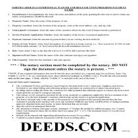 Bertie County Conditional Lien Waiver on Progress Payment Guide Page 1