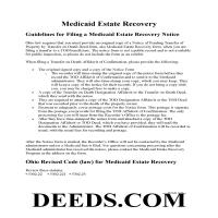 Miami County Notice to Medicaid Estate Recovery Program Guide Page 1
