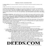 Okmulgee County Transfer on Death Deed Guide Page 1