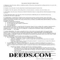 Noble County Trustee Deed Guide Page 1