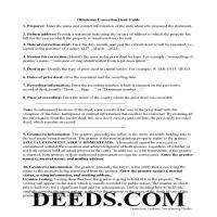 Ellis County Correction Deed Guide Page 1
