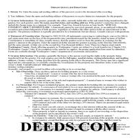 Wallowa County Quit Claim Deed Guide Page 1