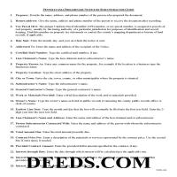 York County Preliminary Notice Guide Page 1