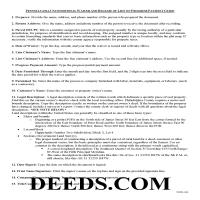 Greene County Unconditional Lien Waiver on Final Payment Guide Page 1