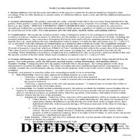 Beaufort County Quit Claim Deed Guide Page 1