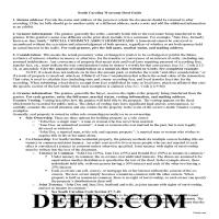 Oconee County Warranty Deed Guide Page 1