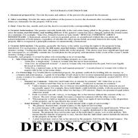Bennett County Gift Deed Guide Page 1