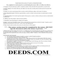 Charles Mix County Transfer on Death Revocation Guide Page 1