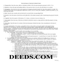 Miner County Trustee Deed Guide Page 1