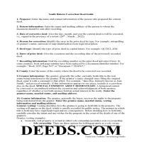 Fall River County Correction Deed Guide Page 1