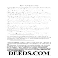 Claiborne County Correction Deed Guide Page 1