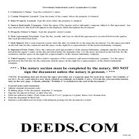 Obion County Indemnity Agreement Guide Page 1
