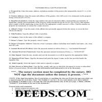 Claiborne County Final Lien Waiver Guide Page 1