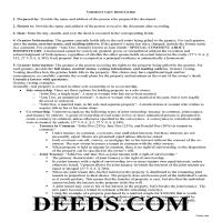 Washington County Gift Deed Guide Page 1