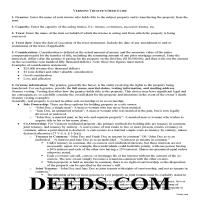 Orleans County Trustee Deed Guide Page 1