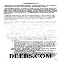 Ferry County Quit Claim Deed Guide Page 1