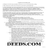 Lewis County Gift Deed Guide Page 1