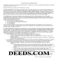 Big Horn County Quit Claim Deed Guide Page 1
