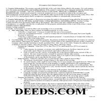 Big Horn County Gift Deed Guide Page 1