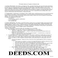 Crook County Special Warranty Deed Guide Page 1