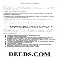 Johnson County Transfer on Death Affidavit Guide Page 1