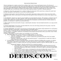 Hawaii County Gift Deed Guide Page 1