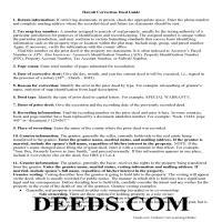 Kauai County Correction Deed Guide Page 1