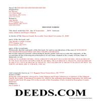 Kent County Completed Example of the Trustee Deed Document Page 1