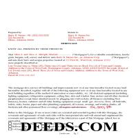 Lee County Completed Example of the Mortgage Document Page 1