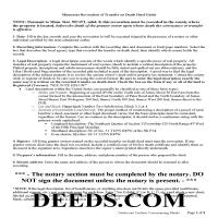 Pine County Transfer on Death Revocation Guide Page 1