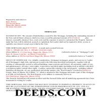 Henderson County Completed Example of the Mortgage Document Page 1
