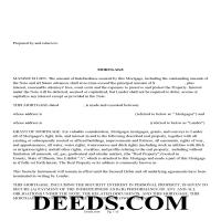 Henderson County Mortgage Form Page 1
