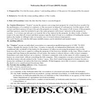 Grant County Deed of Trust Guidelines Page 1