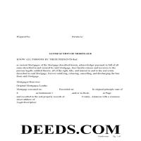 Ouachita County Satisfaction of Mortgage Form Page 1