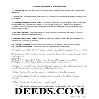 Ouachita County Satisfaction of Mortgage Guidelines Page 1