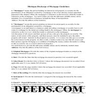 Kalkaska County Discharge of Mortgage Guidelines Page 1