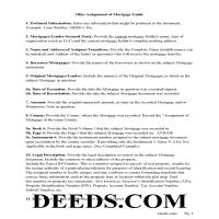 Miami County Assignment of Mortgage Guidelines Page 1