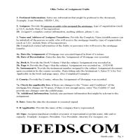 Miami County Notice of Assignment Guidelines Page 1