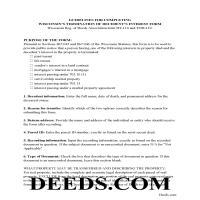 La Crosse County Termination of Decedents Interest Guide Page 1