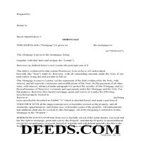 Berks County Mortgage Form Page 1