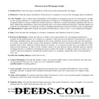 Warren County Mortgage Guidelines Page 1