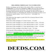 Harper County Mortgage Affidavit Information Page 1