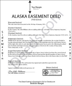 Alaska Easement Deed Form