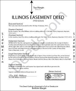 Illinois Easement Deed