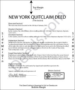 Property Deed Chenango County