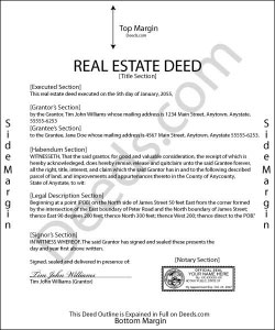 Indiana Mineral Deed Form
