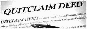 Quit Claim Deed Information