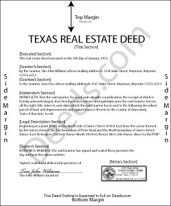 Texas Real Estate Deeds