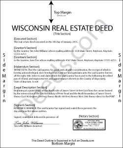 Wisconsin Real Estate Deeds